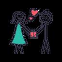 Love Gift Heart Icon