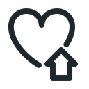 Love home Icon