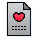 File Love Romance Icon