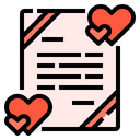 Card Love Valentines Icon