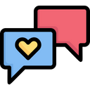 Valentines Day Romance Relationship Icon