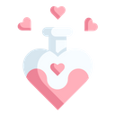 Love Potion Potion Romantic Icon