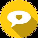 Love Romantic Valentines Icon