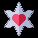 Love Star Icon