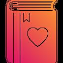 Love Story Love Book Romantic Book Icon