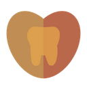 Love Tooth Medicine Medical Icon