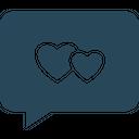 Loving Chat Chat Bubble Speech Bubble Icon