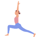 Low Lunge Pose Icon