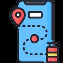 Lpg tracking Icon
