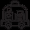Luggage Bag Shopping Icon