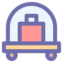 Luggage Suitcase Vacation Icon