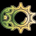 Lunar Space Cosmos Icon