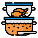 Lunch Box Food Icon