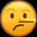 Lying Face Emoji Emoticon Icon