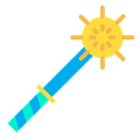 Spiked Mace Medieval Weapon Icon