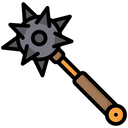 Mace Weapon Bludgeon Icon