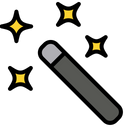 Magic Wand Tool Magic Tool Tool Icon