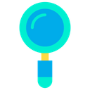 Magnifying Research Outdoor Research Icon