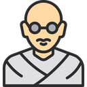 Mahatma Gandhi Gandhi National Father Icon