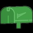 Mail Box Tv Vintage Icon