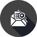 Mail Email Search Icon