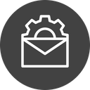 Mail Email Setting Icon