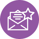 Mail Email Star Icon