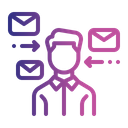 Mail Representative Icon