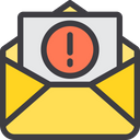 Mail Warning Icon