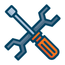 Maintenance Screwdriver Wrench Icon