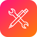 Maintenance Services Wrench Icon