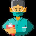 Male Nurse Avatar Frontliner Icon