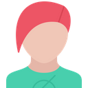 Hairstyle Style T Shirt Icon