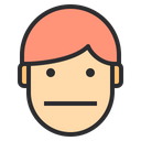 Man Emotion Face Icon