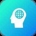 Man Mind Power Icon
