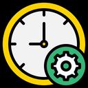 Manage Time Time Management Management Of Time Icon