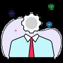 Administrator Supervisor User Management Icon