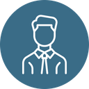Manager Employee Worker Icon