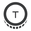 Turkmenistan Currency Tmt Icon