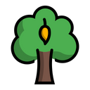 Mango Tree Plant Icon