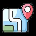 Map Location Pin Navigation Icon
