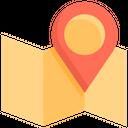 Map Travel Navigation Icon