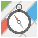 Location Compass Navigation And Orientation Cardinal Directions Icon