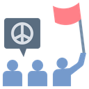 Demonstrate Parade March Icon