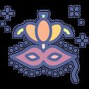 Rio Mask Carnival Icon
