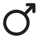 Mars Astrology Symbol Icon