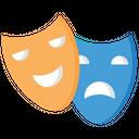 Mask Theatre Mask Drama Icon