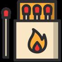 Match Burn Light Icon