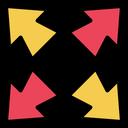 Expand Maximize Resize Icon