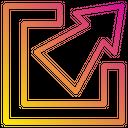 Maximize Resize Scale Icon